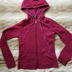 Bebe zip up hoodie